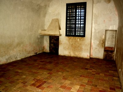 Visit the Iron Mask prison cell in Cannes