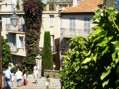 Walk through the Old City in Cannes