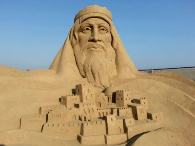 See incredible sand sculptures in Antalya
