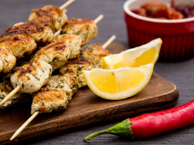 Try souvlaki in Athens