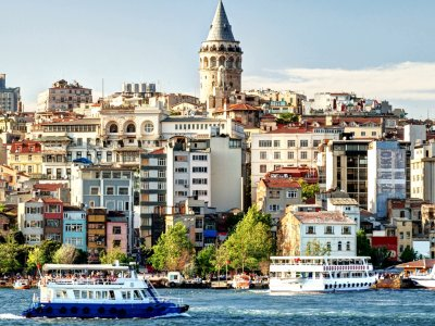 Cruise down the Bosphorus in Istanbul