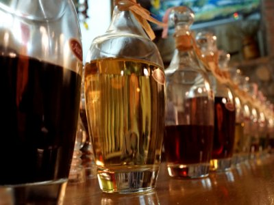 Try rakia in Nesebar
