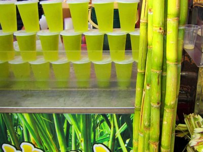 Try sugarcane fresh in Phuket
