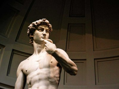 Watch the Statue of David in Florence