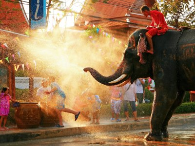 Celebrate Songkran New Year in Phuket