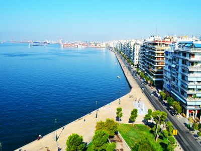 See the view of Thessaloniki from the White Tower of in Thessaloniki