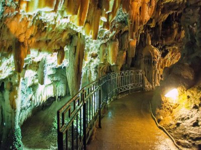 Go through the cave of the Dragon in Kefalinia