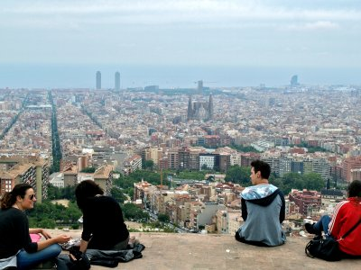 See Barcelona from Mount Tibidabo in Barcelona