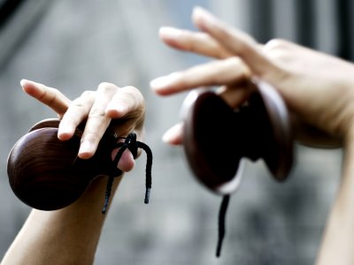 Buy castanets for flamenco in Seville