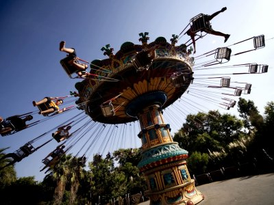 Test yourself for endurance in an amusement park in Seville