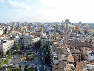 Watch the city from the Miguelete Tower in Valencia