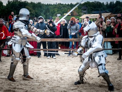 See the joust in Kiev