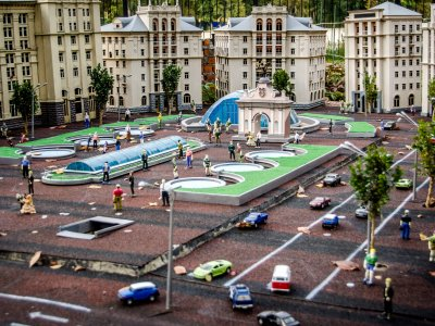 See Ukraine in miniature in Kiev