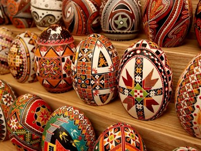 Buy a pysanka in Lviv