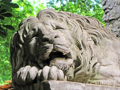 Find Lviv lions in Lviv