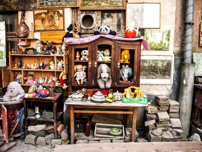 Find the yard of lost toys in Lviv