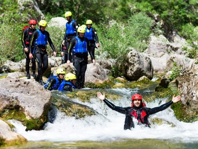 Basic Canyoning in Split