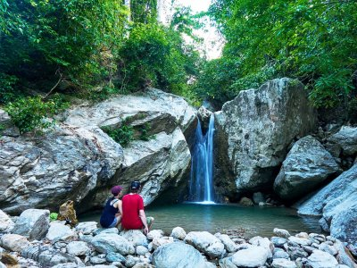 Reach the Talipanan Falls on Mindoro