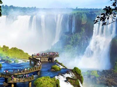Look into the Devil's Throat in Iguazu