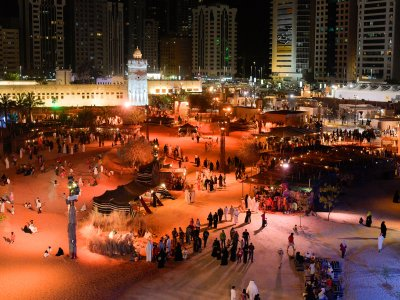 Go to the Qasr Al-Hosn Festival in Abu Dhabi