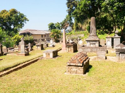 Visit the British Garrison Cemetery in Kandy