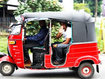 Take a tuk tuk ride in Kandy
