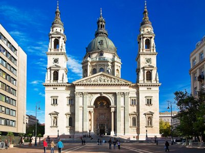 Saint Stephen's Basilica in Budapest
