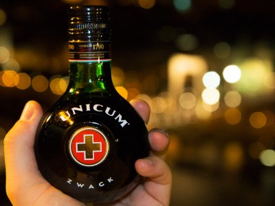 Try balsam Unicum in Budapest