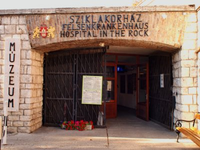 Visit the military hospital of World War II in Budapest
