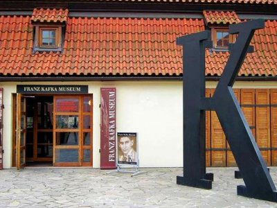Go to the Franz Kafka museum in Prague