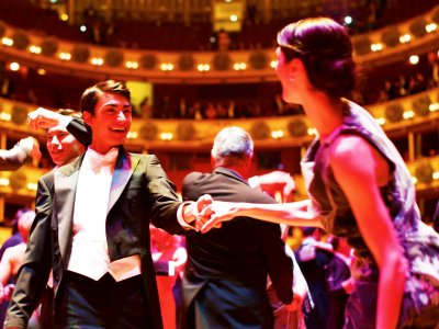 Dance on the Vienna Opera Ball in Vienna