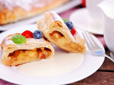 Try strudel in Vienna