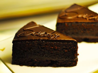Try Sacher cake in Vienna