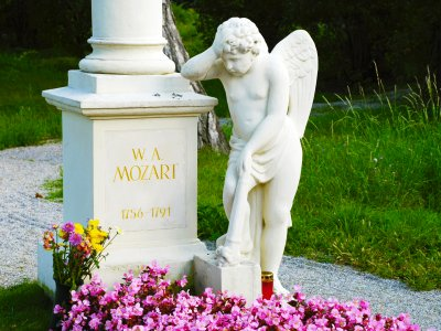 See the Grave of Mozart in Vienna