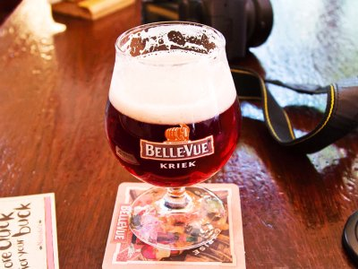 Try cherry Kriek beer in Brussels