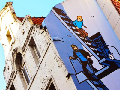 Take comic strip route in Brussels