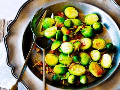 Order a brussels sprout dish in Brussels