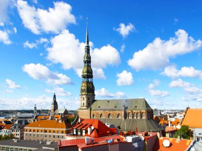 Climb the highest tower in Riga