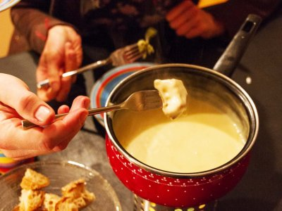 Try fondue in Zurich