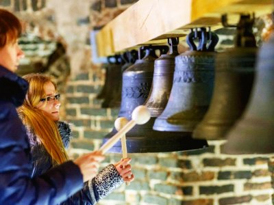 Ring the bell of the Vilnius Cathedral in Vilnius
