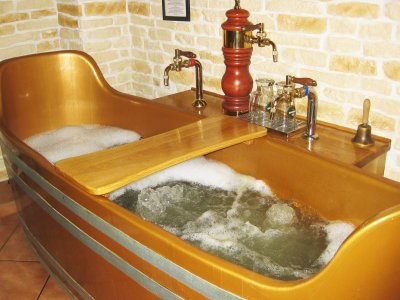 Take a beer bath in Karlovy Vary