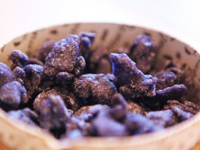Try candied violets in Vienna