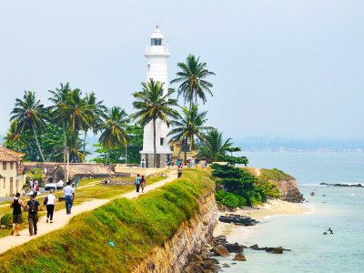 Go up to the top of lighthouse in Galle