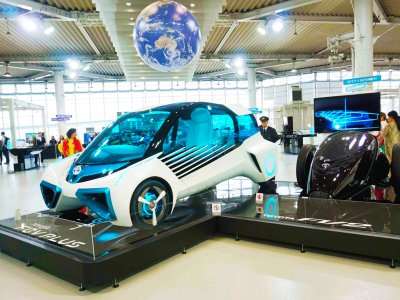 See Toyota car of the future in Tokyo