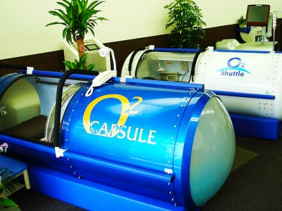 Recharge your batteries in a relax capsule in Tokyo