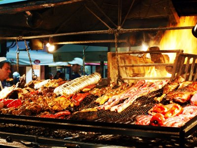 Try asado in Montevideo