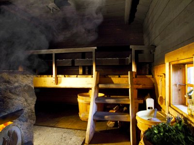 Take Finnish smoke steam-bath in Helsinki