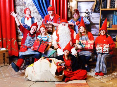 Visit Santa Clause's office in Rovaniemi