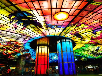 See the Dome of Light in Taiwan