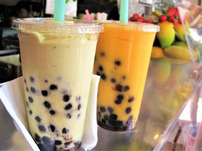 Try bubble tea in Taiwan